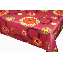 Best Quality for Pvc Printed Tablecloth Printed flower Tablecloth With Non Woven Backing export to Armenia Manufacturers