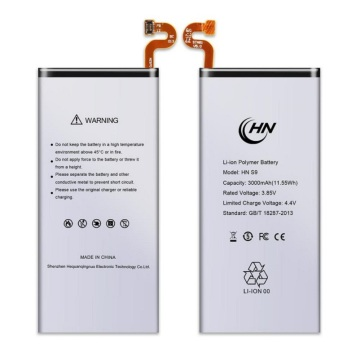 Rechargeable Samsung S9 battery replacement