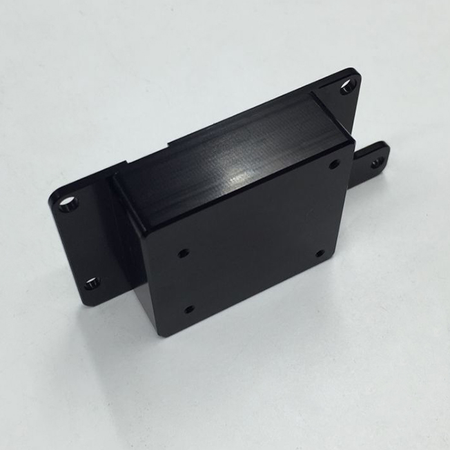 anodized black aluminum