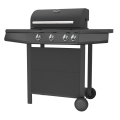 Three Burner Garden Gas Grill