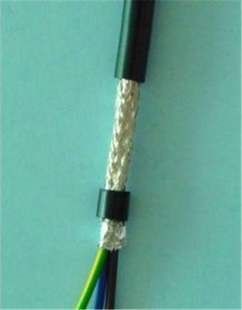Shielded flexible wire