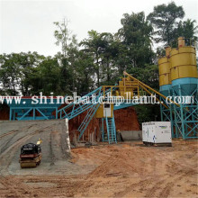 Good Quality for 50M³ Mobile Concrete Plant 50 Portable Concrete Batching Plant export to Macedonia Factory