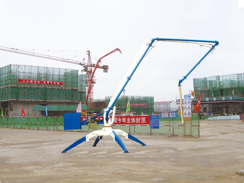 Hydraulic Concrete Pump Placing Boom