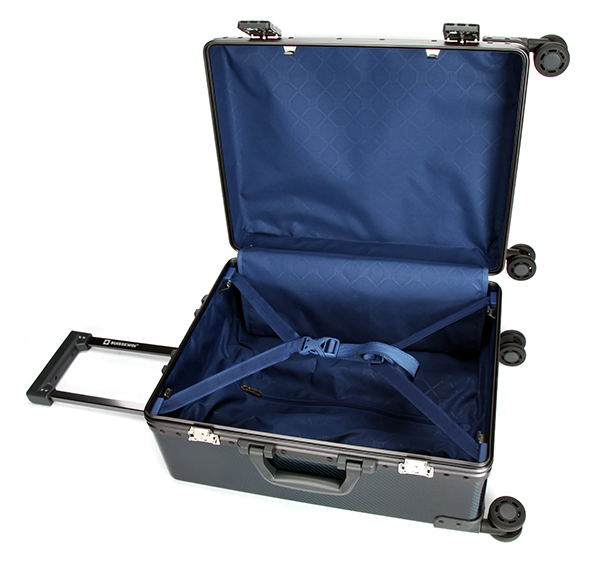Durable Trolley Hardside Luggage