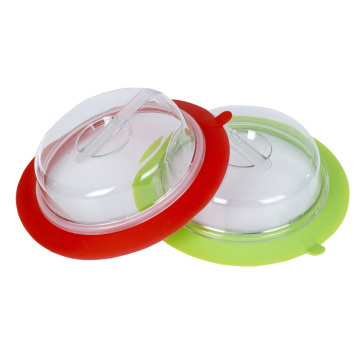 Factory direct sale Eco-friendly Silicone Plate Topper