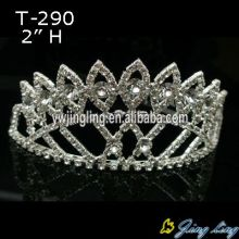 Rhinestone Tiara Crowns Bridal Jewelry