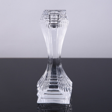 Glass Fashion Square Candlestick
