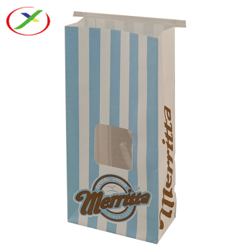 oem design hot sale window paper bag