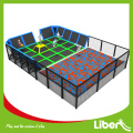 Kids indoor trampoline area