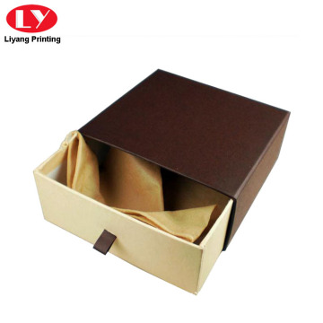 Kraft Paper Belt Packaging Drawer Box