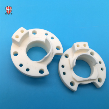 OEM industrial drilling Al2O3 alumina ceramic machined parts