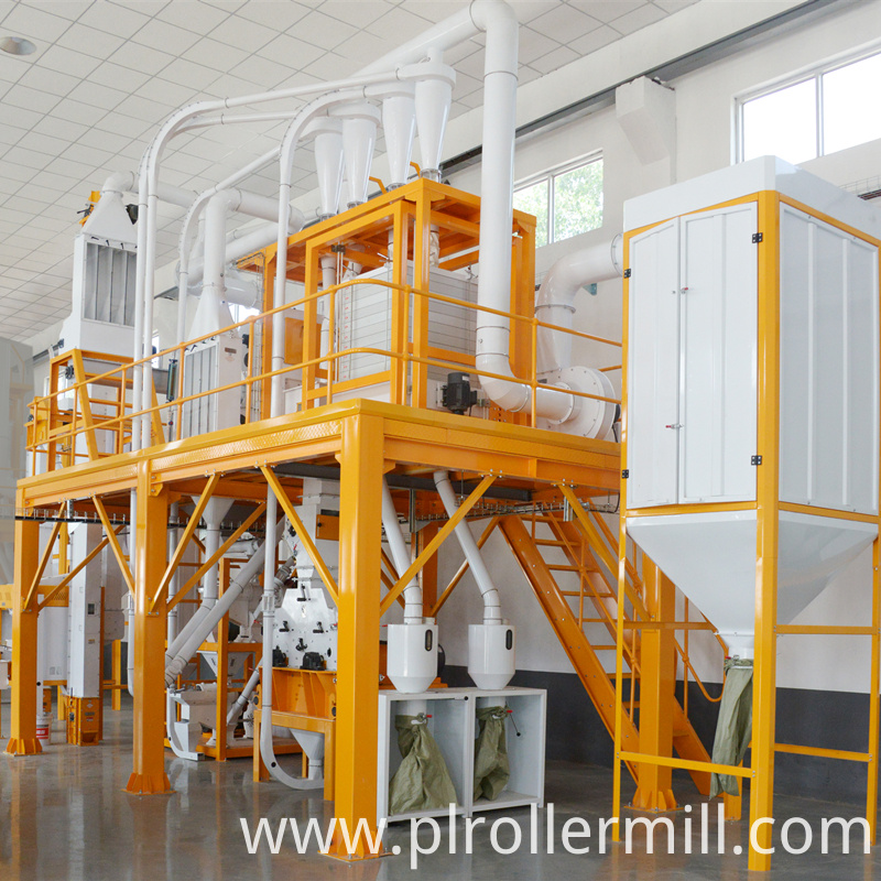 6FTS-24TPD Maize Milling Plants