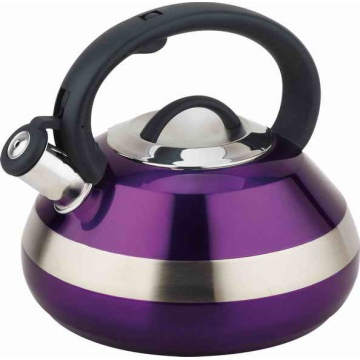 4.0Litre prismy welding body whistling kettle