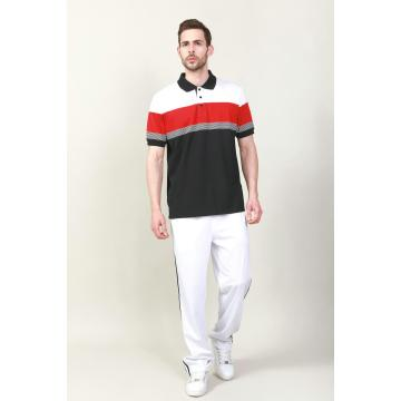 MEN'S YARN DYE POLO GOLFER