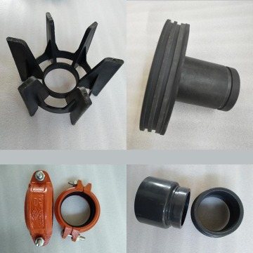 FRP high flow end entry filter housing