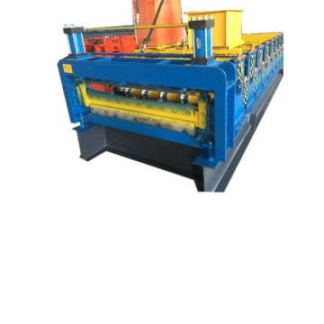 Superior Double Plate Colored Steel Roll Forming Machine