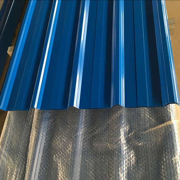 Corrugated PPGI Steel Metal