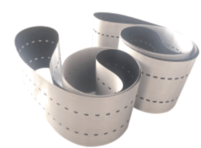 Non-stick Heat Resistant Tabber Stringer Belt