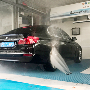 Smart touchless car wash Leisuwash 360