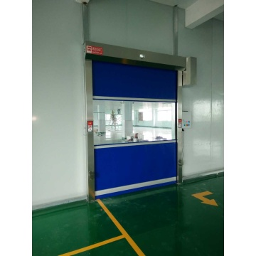Industri Automatic Rolling PVC Interior High Speed ​​Door