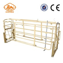 Best Price for Solid Rod Farrowing Stall For Pig Farm New Design Customizable Farrowing Pen For Pigs supply to Guam Factory