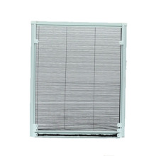 pleated sliding screen window with strong cord