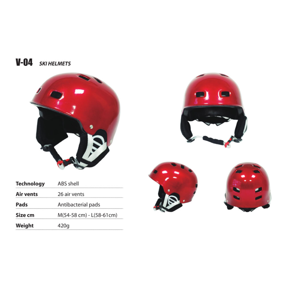 Bright Ski Helmet