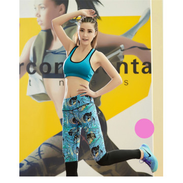 Supply for Yoga Leggings women gym leggings stretch fabric for yoga tights export to France Factories