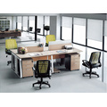 4 person office furniture workstation office desk frame