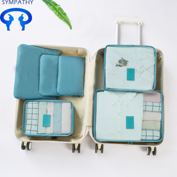 Custom travel bag suitcase to pack makeup bag