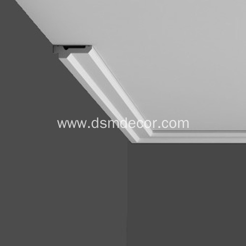 Crown Molding with Indirect Lighting