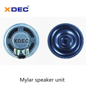 Short Lead Time for for Video Doorphone Speaker Waterproof IP67 mylar speaker 36mm 8ohm 0.5w supply to Bahrain Suppliers