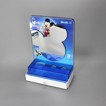 Customized Acrylic Retail Display Stand for toothbrush