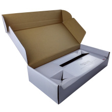 Single Corrugated Paper Grey Paper Mailing Paper Box