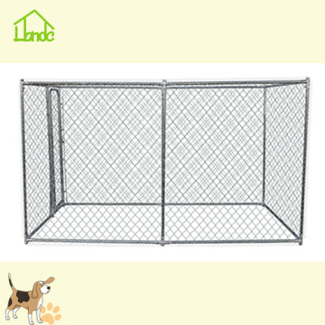4x4x1.82m Galvanized Large Dog Fence Dog Kennel Cage