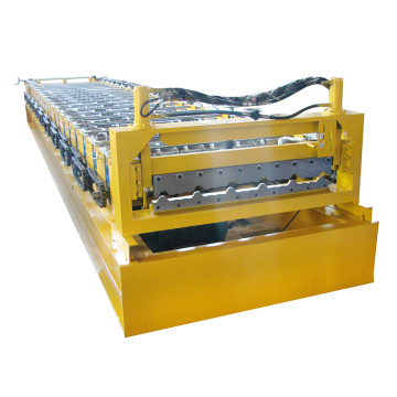 High efficiency roof tile step tile roll forming machine