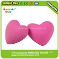 Pink Love Shaped Eraser,Festival Eraser For Promotional