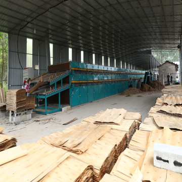 Newly Developed 4 deck Veneer Drying Machine