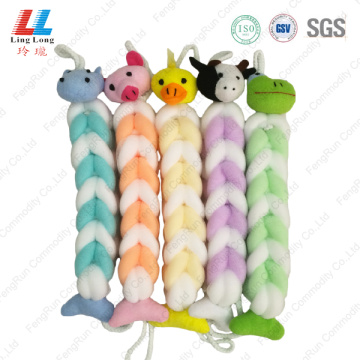 baby Soft bath belt shower puffs in bulk