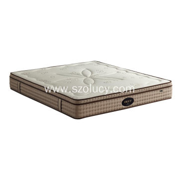 Low Cost for Spring Hotel Mattress Negative Ion Memory Foam Mattress supply to France Exporter