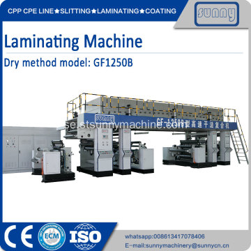 Papperslamineringsmaskin SUNNY MACHINERY