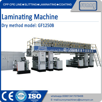 Factory making for Thermal Lamination Machine Dry Method automatic Laminating Machine export to Armenia Supplier