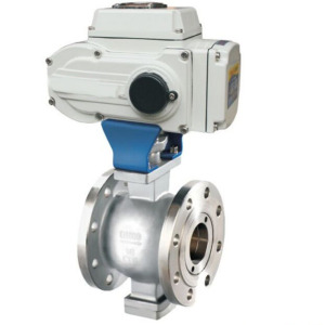 Customized Flange Ending Electrically Adjustable Valve