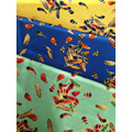 Feather Design Rayon Challis 30S Printing Woven Fabric