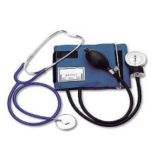 B.P.  monitor with single head stethoscope