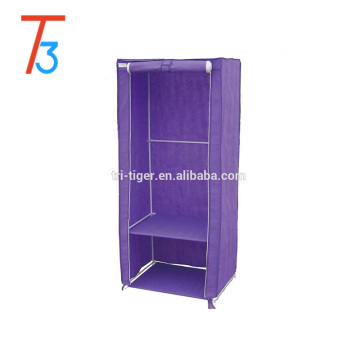 1 Door Bedroom Clothing Storage Bedroom Folding Cloth Wardrobe
