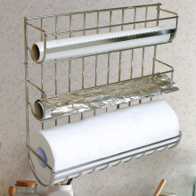 iron chrome plated kitchen rack