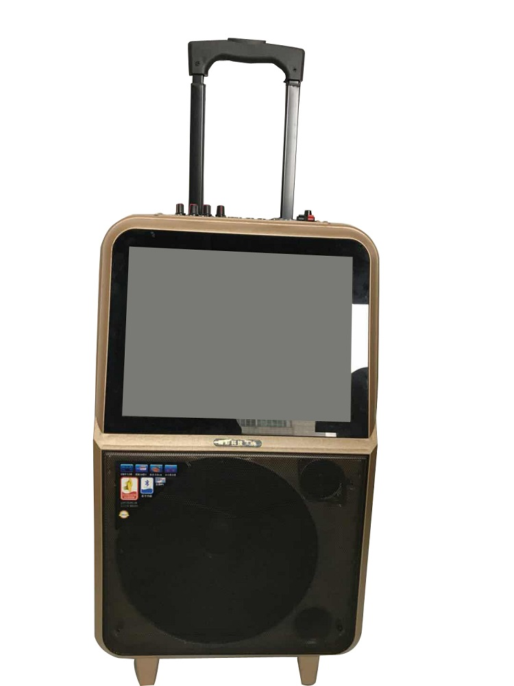 Portable Speaker With Screen