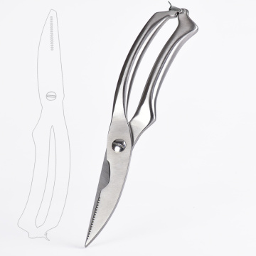 multipurpose stainless steel kitchen scissors
