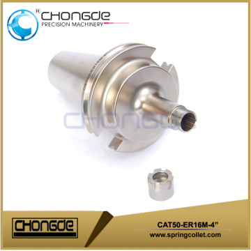 "CAT50-ER16M-4"" Collet Chuck CNC Machine Tool Holder"